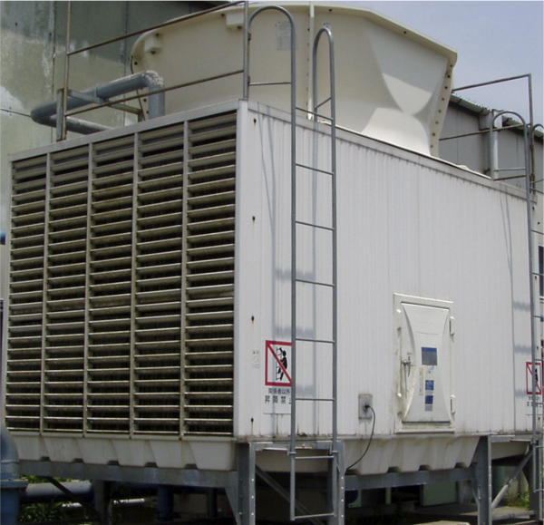 Photos of the cooling tower